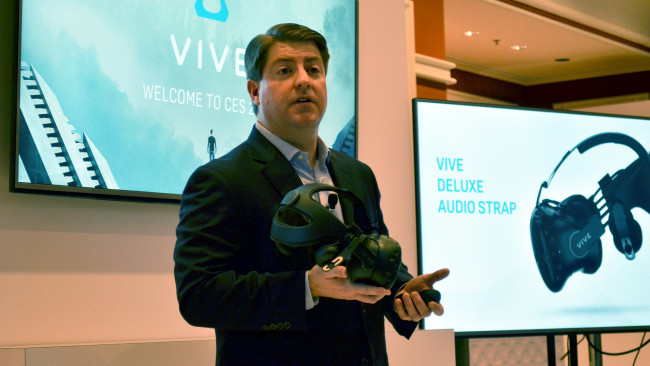 HTCのVR部門ゼネラルマネージャー