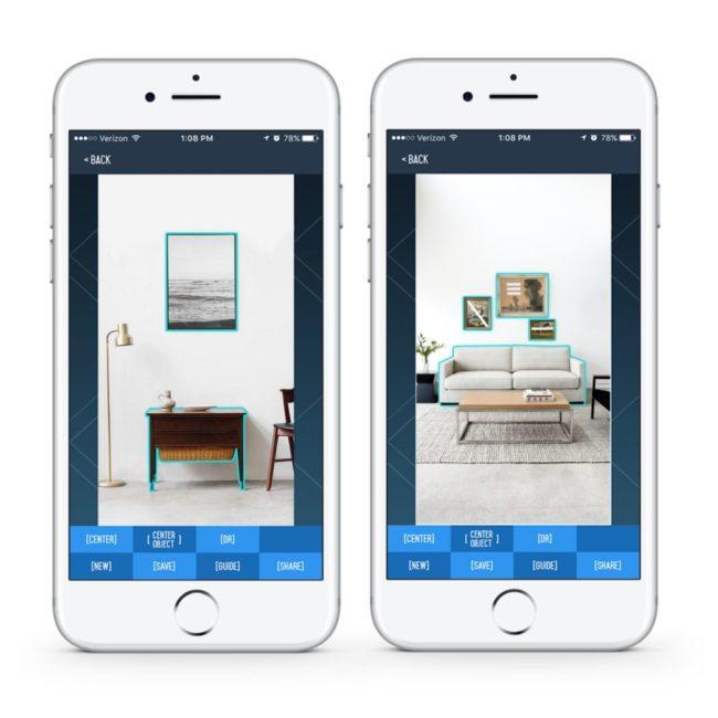 スマートフォンアプリイメージ