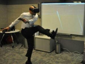 VRでスポーツのトレーニング