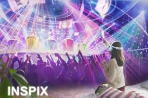 スマホでVR音楽ライブに参加!「INSPIX LIVE」リリース!バーチャルライブの公開も