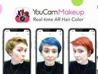 ARビューティーアプリ「YouCamメイク」AI技術など応用したARヘアカラー機能「Hair Cam」をリリース