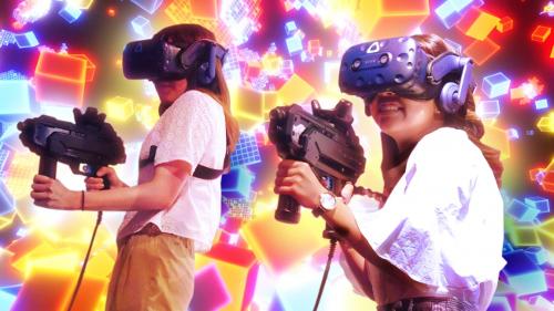 VR ZONE OSAKAのVRアクティビティ