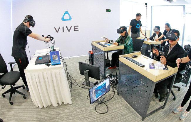 中国でViveを広めるHTC
