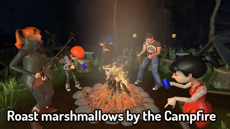 VRChat Campfire