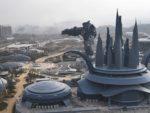 中国・貴州の巨大VRテーマパークの鳥瞰画像