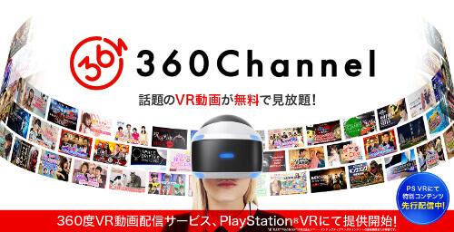 360channelをPSVRで楽しむ