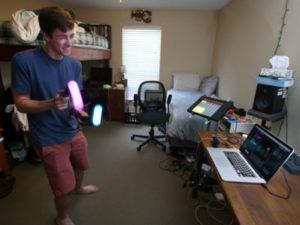 大学生がVR音楽ゲームを開発