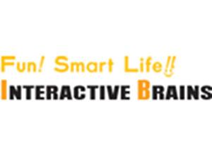 VR企業, インタラクティブブレインズ,企業ロゴ