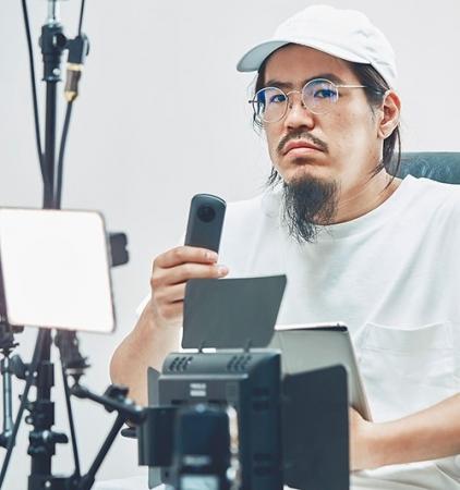 渡邊 徹 氏(全天球映像作家 渡邊課 Concent, Inc.)