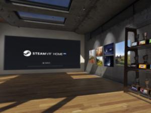 ユーザ好みに飾り付けできるSteamVR Home