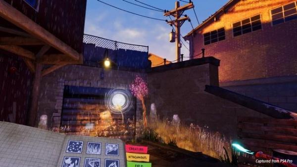 PS VR用コンテンツで自分だけの風景を描くことも可能