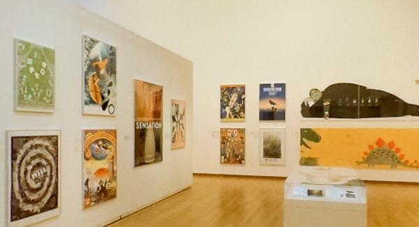 CCGA現代グラフィックアートセンターでの展示