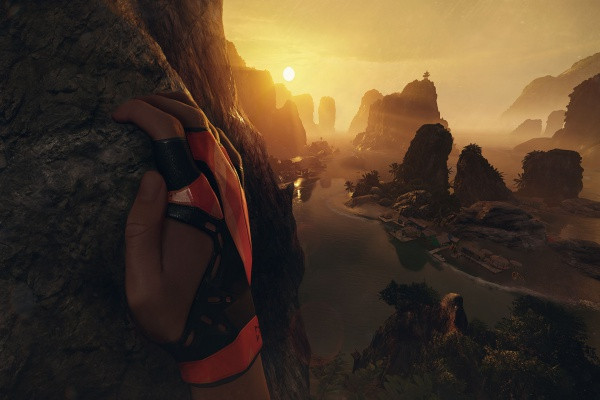 OculusRiftおすすめVRゲームtheClimb