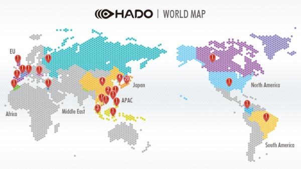 世界中に広がるHADO