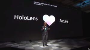 ホロレンズ2はAzureと連携してもっと便利に