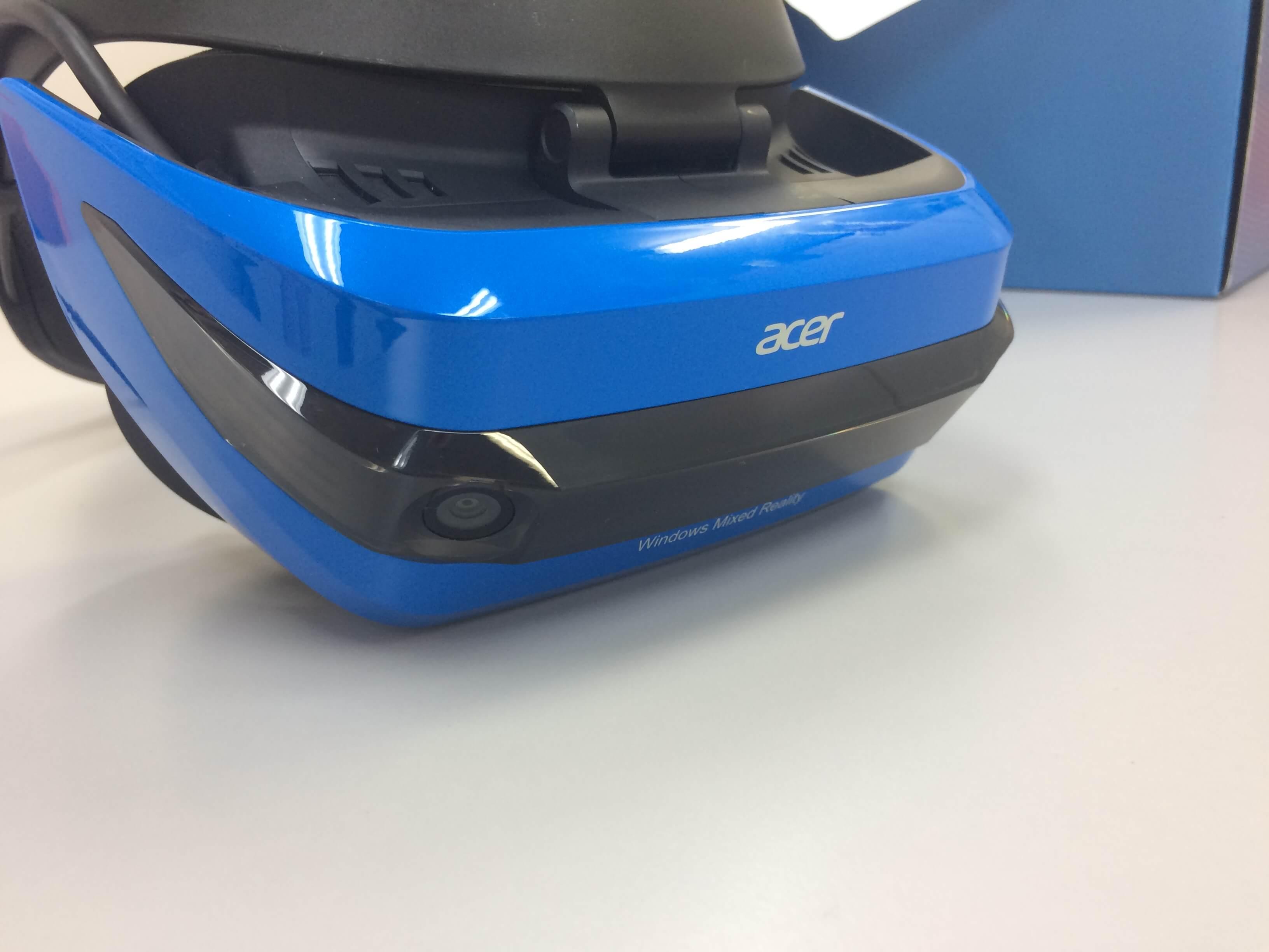 「Acer Windows MR ヘッドセット」本体写真