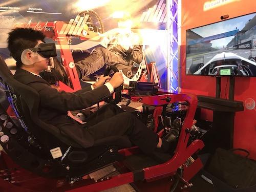 T3R simulatorを体験