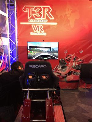 コンテンツ東京2018T3R simulator