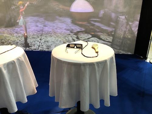 コンテンツ東京SOLIDRAYの3Dメガネ