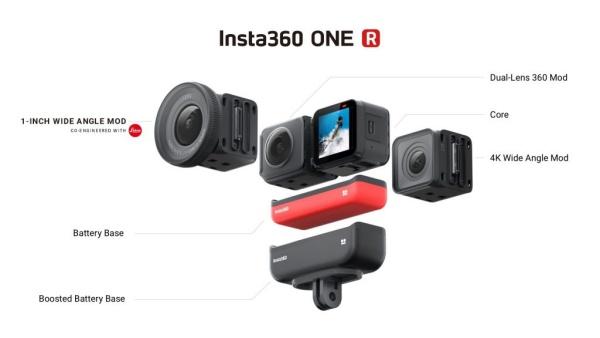 ライカとInsta360の新型アクションカメラ