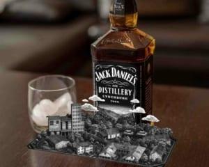 モバイルARを活用した広告!ウィスキーの老舗が展開するARプロモーション!