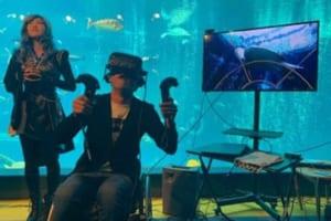 世界初!VRで水中ドローンを操作して海中遊泳&海洋問題を学ぼう!