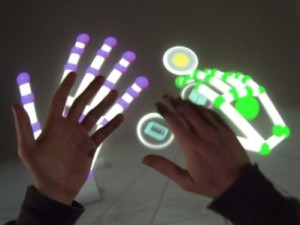 Leap Motion Interaction Engine