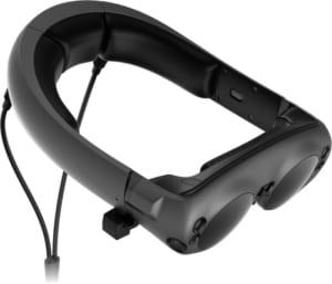 ストレスなく装着できるメガネ型ヘッドセット