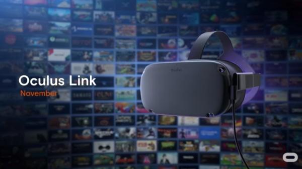 Oculus LinkでPC VRタイトルも体験可能に