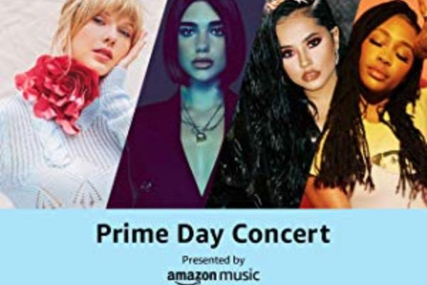 Amazonプライムデーにはプライムデーコンサートなどのイベントも開催される