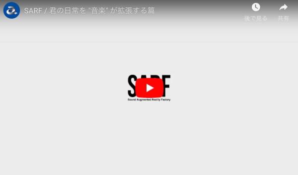 SARFの説明動画