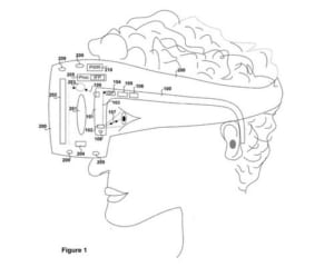 PSVRにアイトラッキング機能を追加?専用のメガネ型デバイスの特許が公開