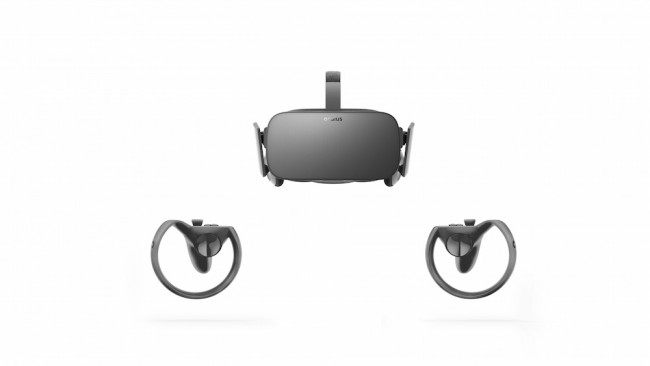 touch with rift headset
