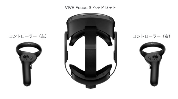 VIVE Focus3に必要なものは?