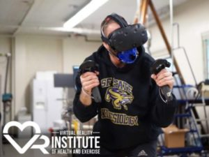VRでカロリーを消費