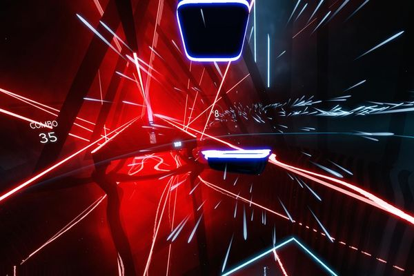 VRニュースイッキ見_人気VRゲーム「ビートセーバー」がアーケード筐体に