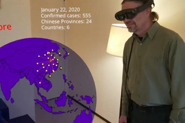 VRニュースイッキ見_新型コロナウィルスの広がりを可視化するAR/VRアプリが登場