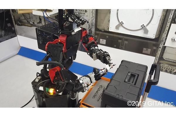 VRニュースイッキ見_宇宙飛行士の負担軽減を目指すGITAIが 最新の実験動画を公開