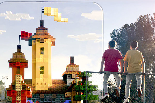 VRニュースイッキ見Minecraft Earthが発表
