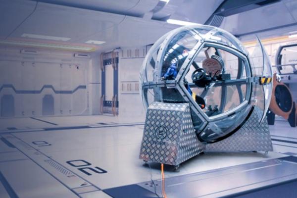 VRニュースイッキ見_VR世界を縦横無尽!中に入れる巨大ボール型VRデバイスNOVAが登場!