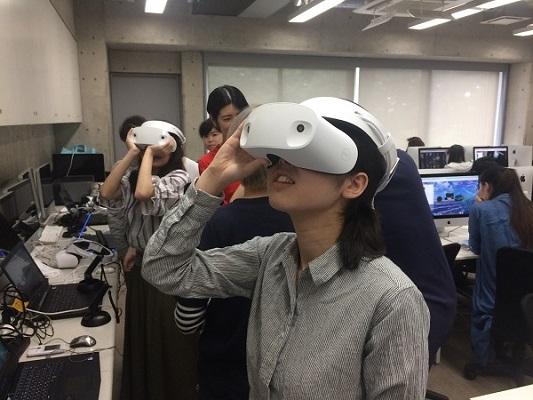 VRニュースイッキ見文化服装学院でSTYLYを使ったVRコンテンツの特別講義が開催