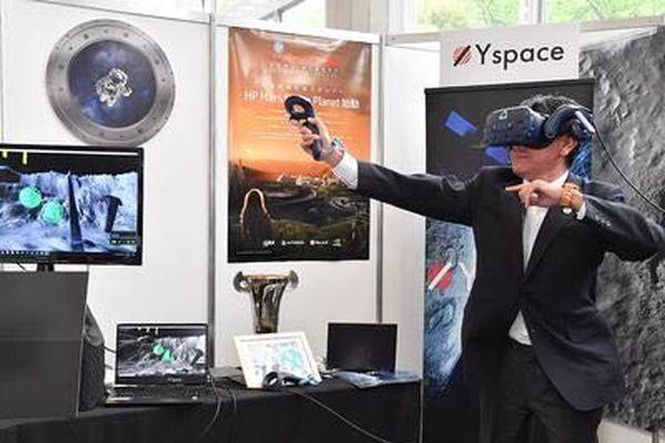 VRニュースイッキ見世界40ヶ国の大臣たちがVRで宇宙体験