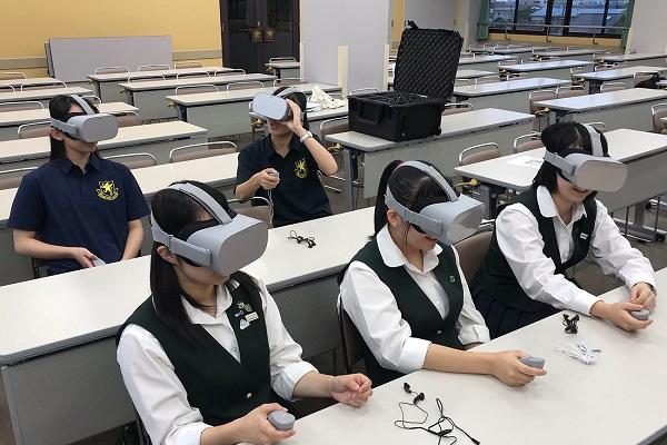 VRニュースイッキ見_「対人VR英会話レッスン」仙台育英高校に導入へ