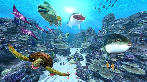 VRニュースイッキ見_VR海中探索と体験型空間展示を体感できる「さかなクンと秘密のラボ in サンシャイン水族館」が開催