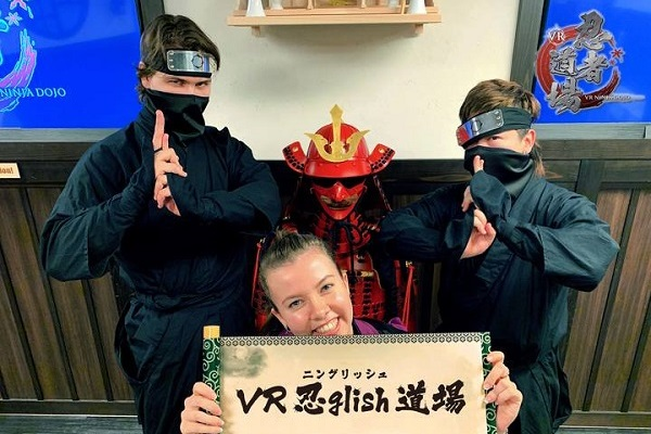 VRニュースイッキ見_VRと忍者で英語を学べる小中学生向け夏休み体験イベント「VR 忍(Nin)glish道場」が開催