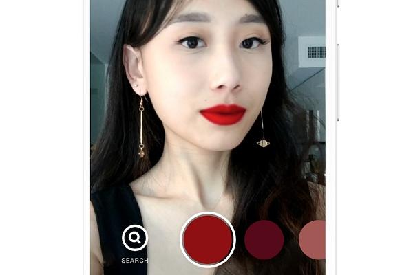 VRニュースイッキ見_PinterestがARでメイクが試せる「バーチャルトライ」を導入