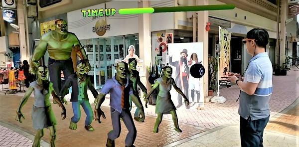 VRニュースイッキ見_マルチプレイ型ゲーム「Zombie bomber AR」を初披露