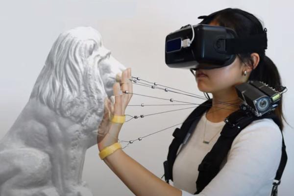 VRニュースイッキ見_米カーネギー・メロン大学の研究者チームが弦を使った新型触覚フィードバックデバイスを提唱