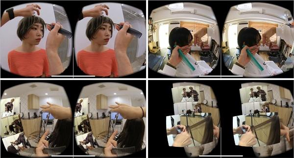 VRニュースイッキ見_日本初の美容師教育サービス「hairVR」クローズドβ版リリース