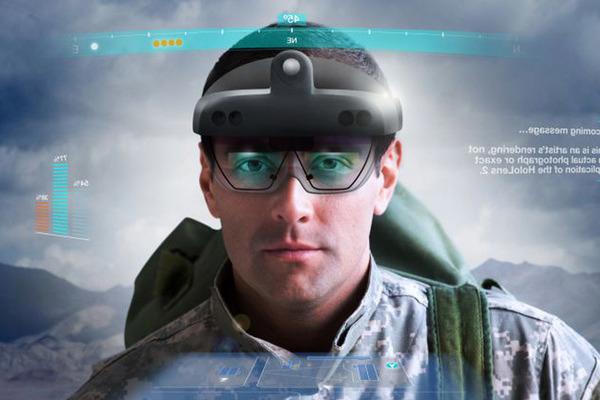 VRニュースイッキ見米軍が開発中のARヘッドセットのイメージ画像